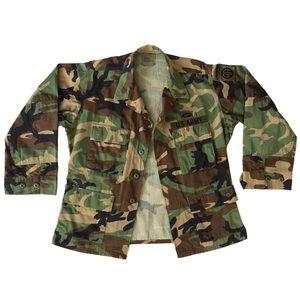 Vintage U.S. Army Woodland Camouflage Camo Jacket